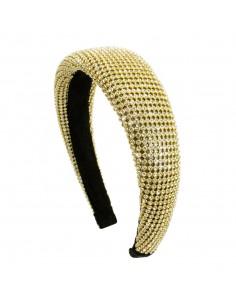 Fashion Headbands CERCHIO BOMBATO STRASS | Wholesale Hair Accessories and Costume Jewelery