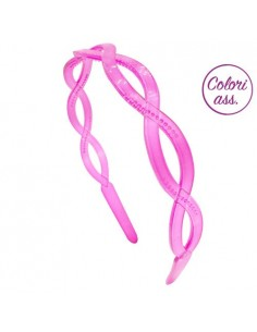 Color Hairbands CERCHIETTO LOSANGA COLORI TRASPARENTI | Wholesale Hair Accessories and Costume Jewelery