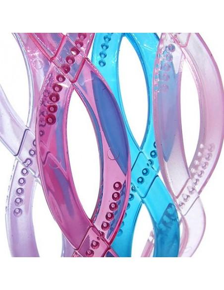 Color Hairbands CERCHIETTO LOSANGA COLORI TRASPARENTI | Wholesale Hair Accessories and Costume Jewelery