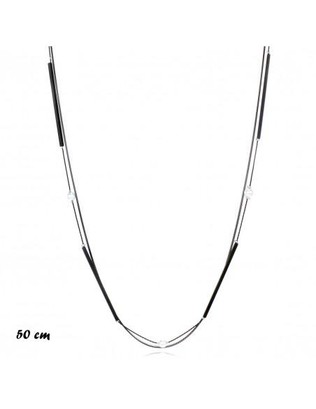 Fashion Necklaces COLLANA MULTIFILO CON PERLE | Wholesale Hair Accessories and Costume Jewelery
