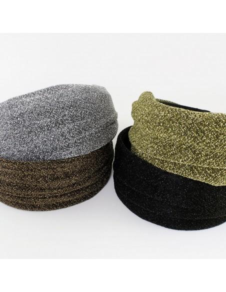 Fashion Headbands CERCHIO CM 6 LUREX | Wholesale Hair Accessories and Costume Jewelery
