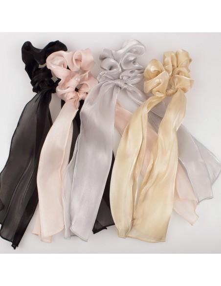 Fashion Scrunchies FERMACODA RASO CON CODE   Wholesale Hair Accessories and Costume Jewelery