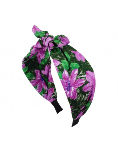 Fashion Headbands CERCHIO CM 06 FIOCCO FLOREALE | Wholesale Hair Accessories and Costume Jewelery