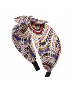 Trendige Haarreifen CERCHIO CM 06 FIOCCO FANTASIA | Großhandel Haarschmuck und Modeschmuck