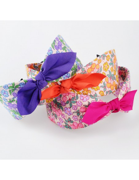 Fashion Headbands CERCHIO CM 06 FIOCCO CILIEGIO | Wholesale Hair Accessories and Costume Jewelery