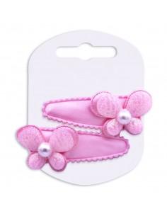 Clic Clac Bimba CLIC CLAC CM 5 BIMBA CON FARFALLA GLITTER | Wholesale Hair Accessories and Costume Jewelery