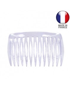 Basic Hair Combs FIANCHINO CM.6,5 TRASPARENTE | Wholesale Hair Accessories and Costume Jewelery