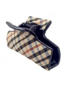 Pinze Fashion Grandi - PINZA FANTASIA SCOZIA CM 08,5°   Vendita Ingrosso Fermacapelli e Bigiotteria