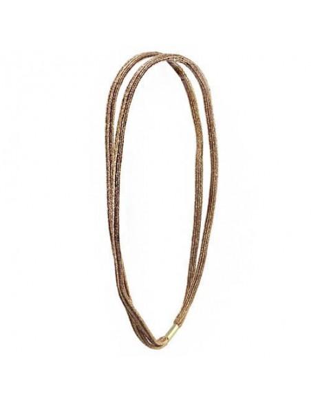Fashion Hair wrap Headbands FASCETTA DOPPIA LUREX | Wholesale Hair Accessories and Costume Jewelery