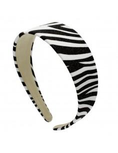 Fashion Headbands CERCHIO CM.4 ZEBRATO CANGIANTE | Wholesale Hair Accessories and Costume Jewelery