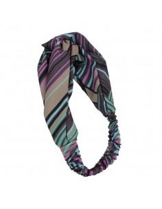 Fashion Hair wrap Headbands FASCIA FANTASIA RIGHE CON NODO | Wholesale Hair Accessories and Costume Jewelery