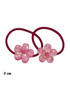 Elastici Bimba ELASTICO CON FIORI PZ 2 | Wholesale Hair Accessories and Costume Jewelery