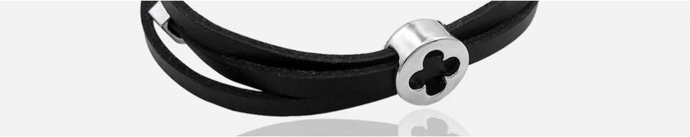 Wholesale Fashion leather bracelets for men and women