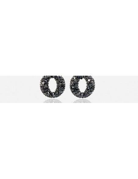 Short Rhinestone Earrings